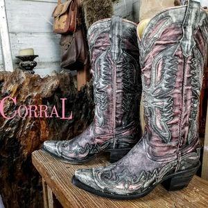 Corral cowboy boots 6.5M